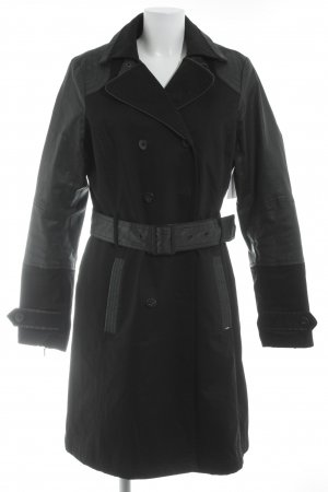 Tribeca New York Trenchcoat schwarz Gothic-Look