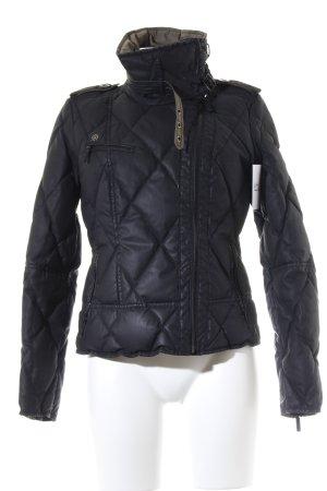 Tribeca New York Winterjacke schwarz Casual-Look