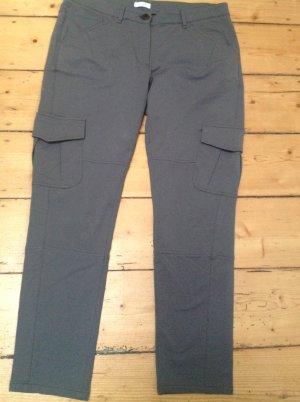 Gunex Pantalone cargo grigio Tessuto misto
