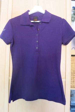 Trigema Polo shirt donkerpaars