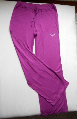 Trigema Sporthose Yoga Jazzpants Zumba Magenta / Pink Gr.S Neu