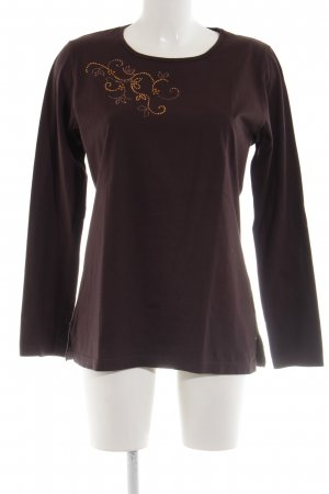 Trigema Sweatshirt abstraktes Muster Casual-Look
