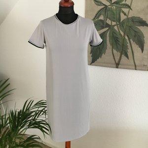 Trikotkleid Minikleid Kleid Dress Rihanna Kardashian Kylie grau Rippen von Forever21  36 S grau