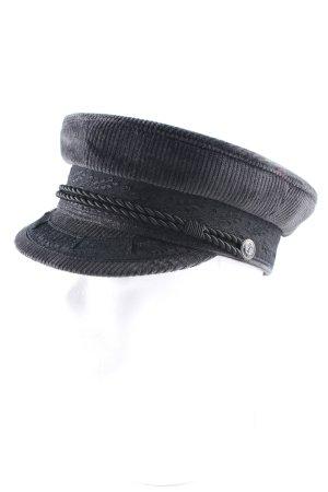 Chapeau feutre noir style dandy