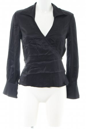 Trina Turk Wraparound Blouse black business style