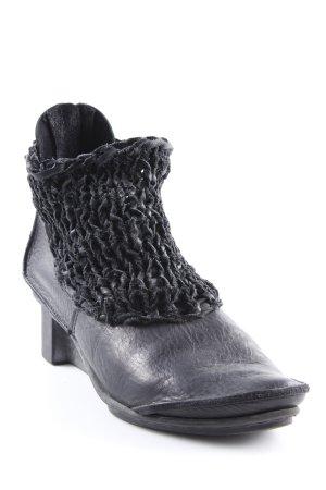 trippen Absatz Stiefel schwarz Casual-Look