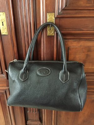 Tristano Onofri Carry Bag black leather