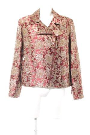 Tristano Onofri Tweed blazer bloemen patroon extravagante stijl