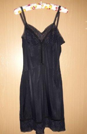 TRIUMPH Damen-Vintage Unterkleid Elasti Chic ,schwarz,Nylon,Größe 42,mit Spitze
