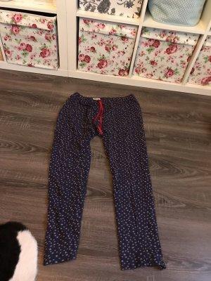Triumph schlafhose Pyjama homewear Hose blau Sterne Sternchen