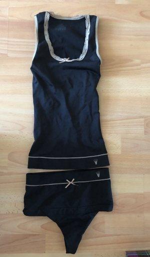Triumph Conjunto de lencería negro