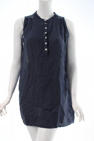Trivia High Low Dress dark blue beach look