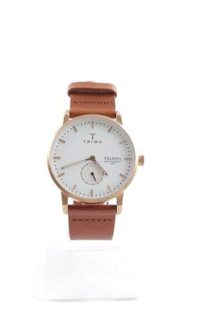 Triwa Uhr mit Lederarmband mehrfarbig Elegant