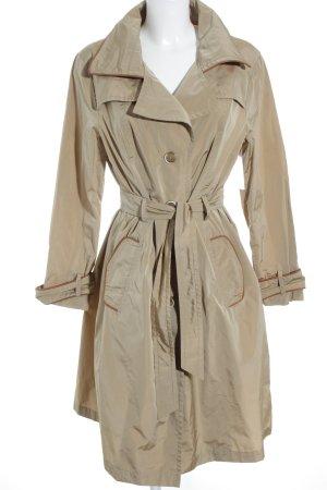 Trixi Schober Lange Jacke beige klassischer Stil