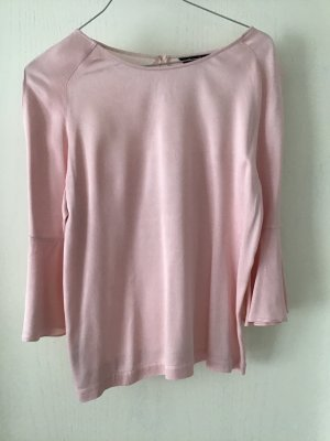Massimo Dutti Blouse brillante rosé-rose clair