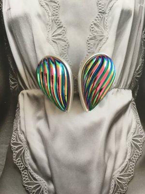Orecchino a clip multicolore