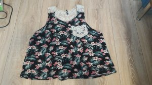 Colloseum Crochet Top black