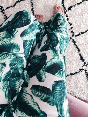 Tropical Summer luftige Hose Palmenblätter
