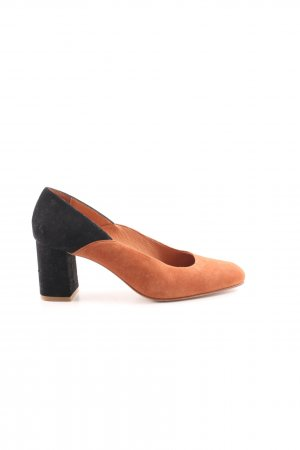 Zapatos Informales marrón-negro estilo clásico