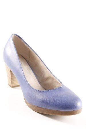 Zapatos Informales violeta grisáceo-marrón claro estilo «business»