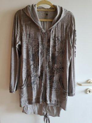 Tredy Giacca-camicia marrone-grigio