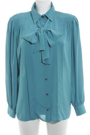 tru blouse Langarm-Bluse kadettblau Casual-Look