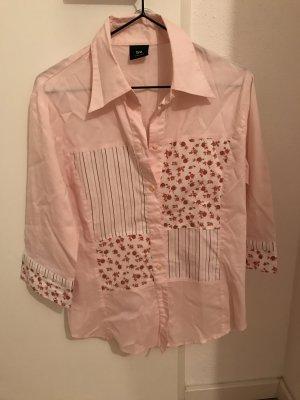 Tru Trend Bluse rosa Blümchen Größe 36