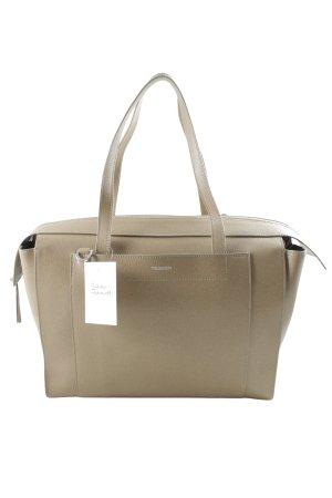 Tru Trussardi Shopper beige schlichter Stil