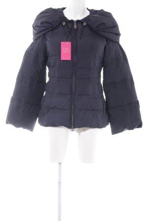 Tru Trussardi Winterjacke dunkelblau schlichter Stil