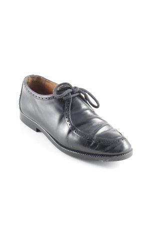 Truans Budapest schoenen zwart zakelijke stijl