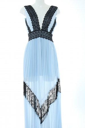True Decadence Abendkleid blau-schwarz Elegant