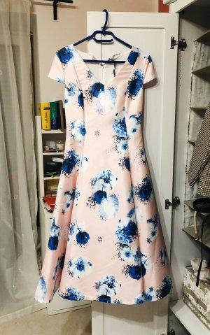 True Decadence Kleid - Größe S - Skater Kleid mit Blumenmuster