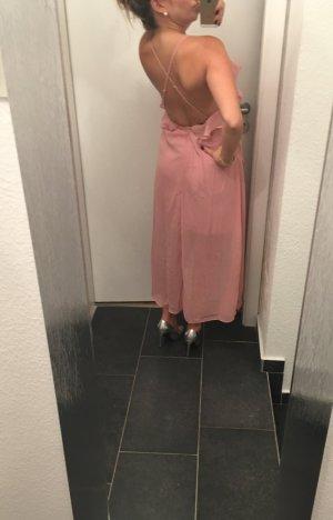 True Decadence- rückenfreies Trägerkleid in Wickeloptik