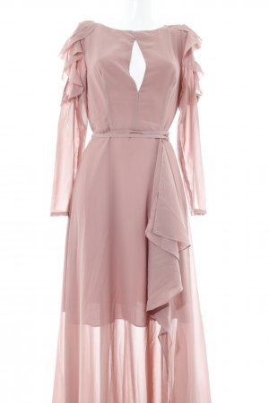 True Decadence Robe à volants mauve élégant