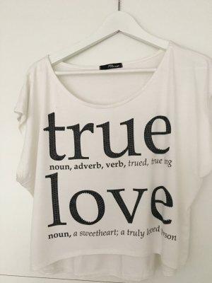 True Love T-Shirt mit steine