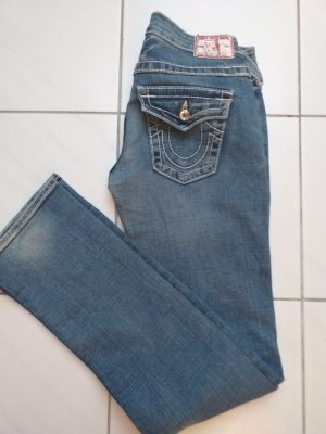 True Religion Jeans slim fit blu
