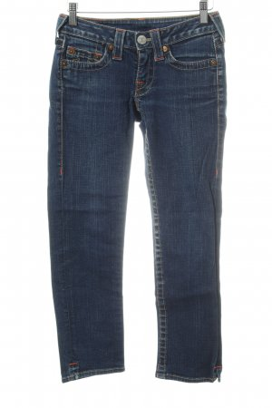 True Religion 3/4 Length Jeans blue casual look