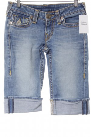 True Religion 3/4 Jeans blau Casual-Look