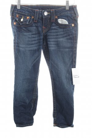 True Religion 3/4 Jeans dunkelblau Street-Fashion-Look