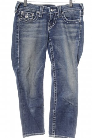 True Religion Vaquero 3/4 azul acero look casual