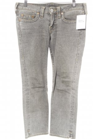 True Religion 7/8 Jeans graubraun Street-Fashion-Look