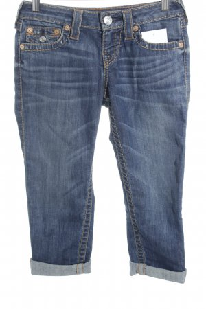 True Religion 7/8 Jeans stahlblau Casual-Look