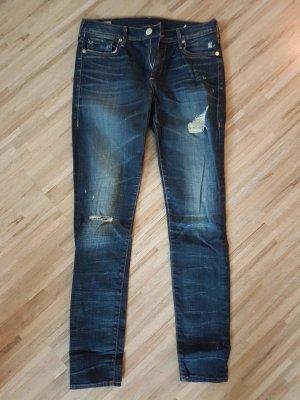 True Religion Spijkerbroek blauw