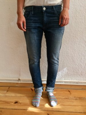 True Religion Audrey Boyfriend Jeans, Made in USA, W25