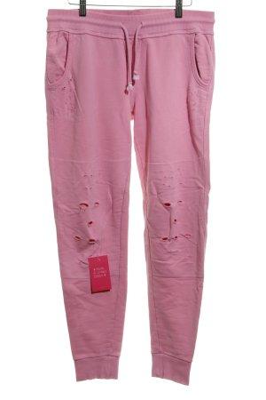 True Religion Pantalón abombado rosa estilo relajado