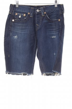 True Religion Bermuda bleu Look de plage