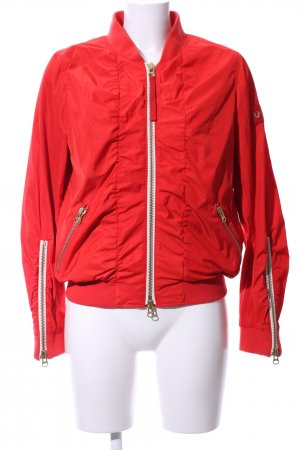 True Religion Bomber Jacket red casual look