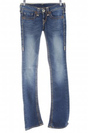 True Religion Jeans svasati blu stile casual