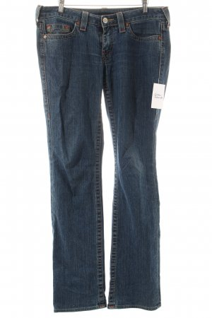 True Religion Boot Cut Jeans blau sportlicher Stil