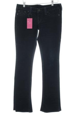 True Religion Boot Cut Jeans dark blue casual look